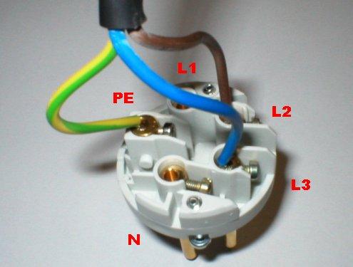 Zapojení 220 kabelů